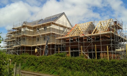 housebuilding in Exerter