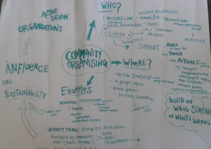 Laura shares her experience of community building
